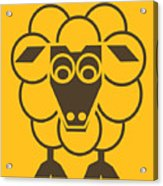 Sleep-sheep - Lonvig By Minymo Acrylic Print