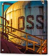 Sloss Furnaces Acrylic Print