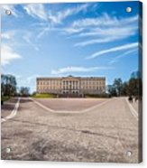 Slottet, The Royal Palace In Oslo, Norway Acrylic Print