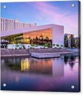 Spokane Washington City Skyline And Convention Center Acrylic Print