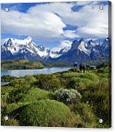 Springtime In Patagonia Acrylic Print