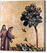 St. Francis Of Assisi Acrylic Print by Granger