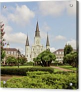 St. Louis Cathedral - Hdr Acrylic Print