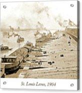St. Louis Levee, 1904 Acrylic Print