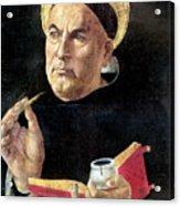 St. Thomas Aquinas Acrylic Print