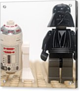 Star Wars Action Figure  Acrylic Print