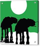 Star Wars At-at Collection Acrylic Print