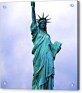 Statue Of Liberty Acrylic Print by Sami Sarkis
