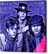 Stevie Ray Vaughan And Double Trouble Collection Acrylic Print