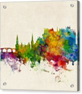 Stirling Scotland Skyline Acrylic Print