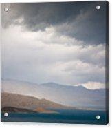 Storm On Karakul Lake Acrylic Print by Konstantin Dikovsky