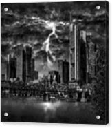 Storm Over Frankfurt Acrylic Print