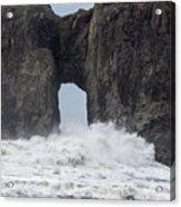 Storm Rock Acrylic Print