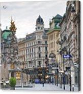 Streets Of Vienna Acrylic Print