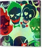 Suicide Squad 2016 Acrylic Print