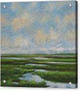 Summer Marsh Acrylic Print