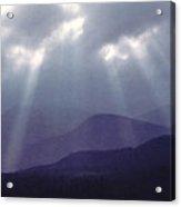 Sunbeams Over Derwent Acrylic Print