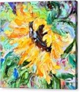 Sunflower Joy Acrylic Print