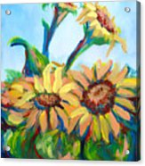 Sunflowers 2 Acrylic Print