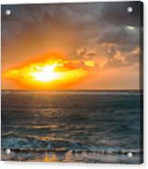 Sunrise At Kapaa - Kauai Acrylic Print