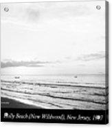 Sunrise, Holly Beach, Now Wildwood, New Jersey, 1907 Acrylic Print