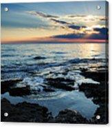 Sunset At Basanija Acrylic Print