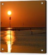 Sunset At Rock Harbor Acrylic Print