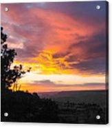 Sunset At Yaki Point Acrylic Print