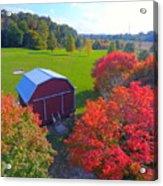 Sunset Hill Farms Indiana  Acrylic Print