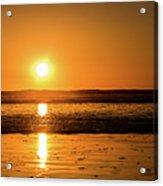 Sunset Over The Ocean Acrylic Print