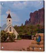 Superstition Mountain State Park Acrylic Print