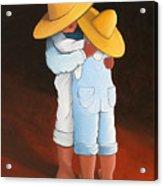 Sweet Embrace Acrylic Print by Lance Headlee