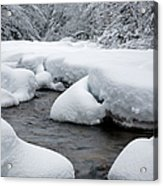 Swift River - White Mountains New Hampshire Usa Acrylic Print
