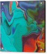 Swirm Acrylic Print