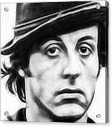 Sylvester Stallone Collection Acrylic Print