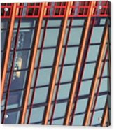 Tall Building Showing Colors #2 Acrylic Print