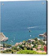 Taormina Vista Acrylic Print