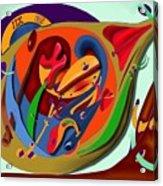Tempus Fugit Acrylic Print
