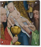The Adoration Of The Kings Acrylic Print