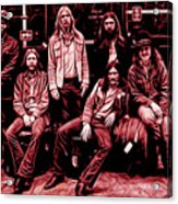 The Allman Brothers Collection Acrylic Print