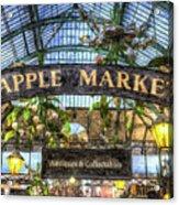 The Apple Market Covent Garden London Art Acrylic Print
