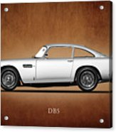 The Aston Martin Db5 Acrylic Print