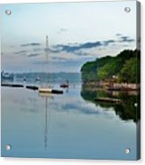 The Bass River At Dawn, Beverly Ma Acrylic Print