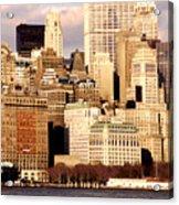 The Battery- New York City Acrylic Print