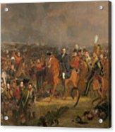 The Battle Of Waterloo Acrylic Print