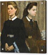 The Bellelli Sisters Acrylic Print