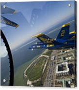 the Blue Angels Acrylic Print