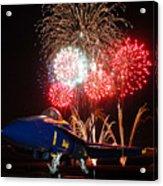the Blue Angels US Navy    Acrylic Print