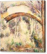The Bridge Of Trois - Sautets Acrylic Print