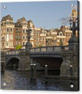 The Bridges Of Amsterdam Acrylic Print
